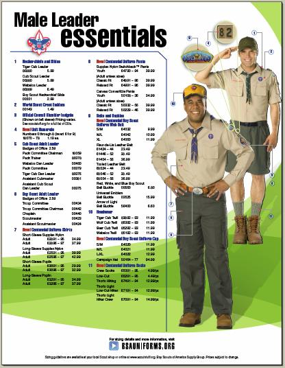 Adult boy scout leader position