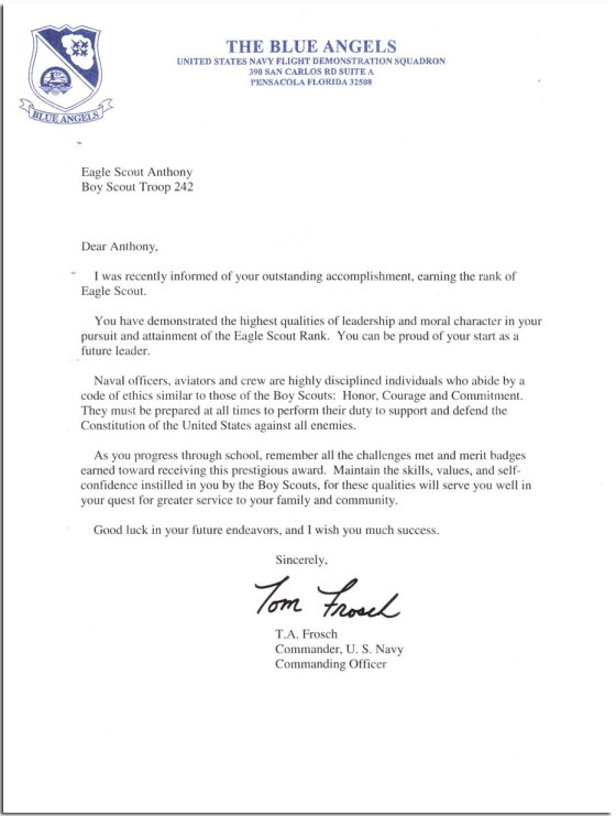Sample Recommendation Letter For Youth Leadership Program Sample